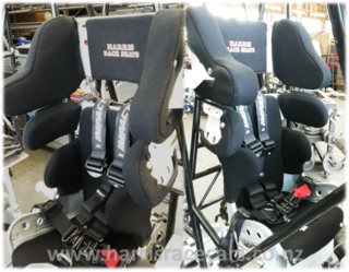 Harris 2015 Quarter Midget Full Containment Seat